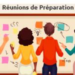 Toujours organiser des réunions de préparation